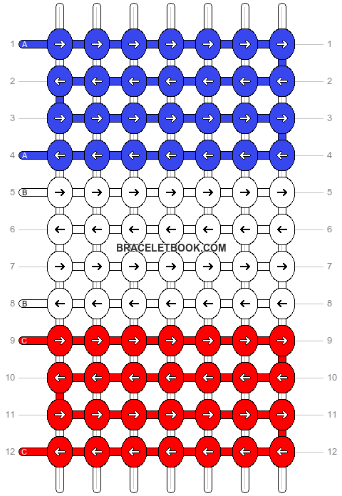 Alpha pattern #1375 pattern