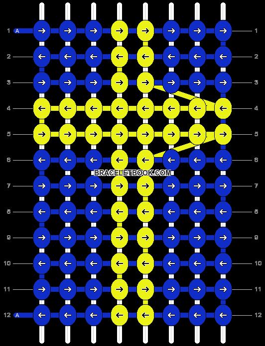 Alpha pattern #1378 pattern