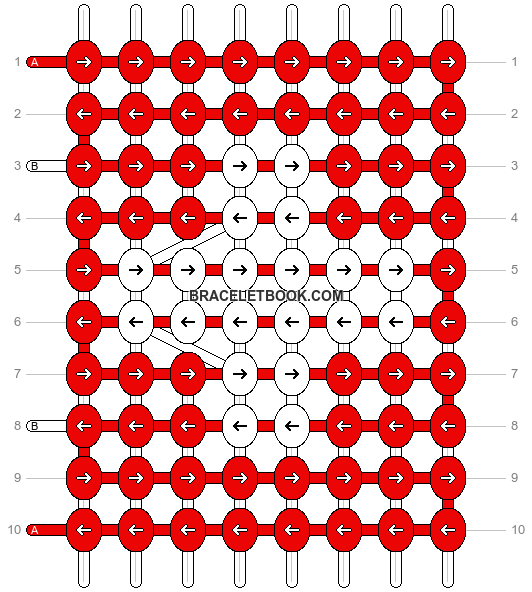 Alpha pattern #1379 pattern