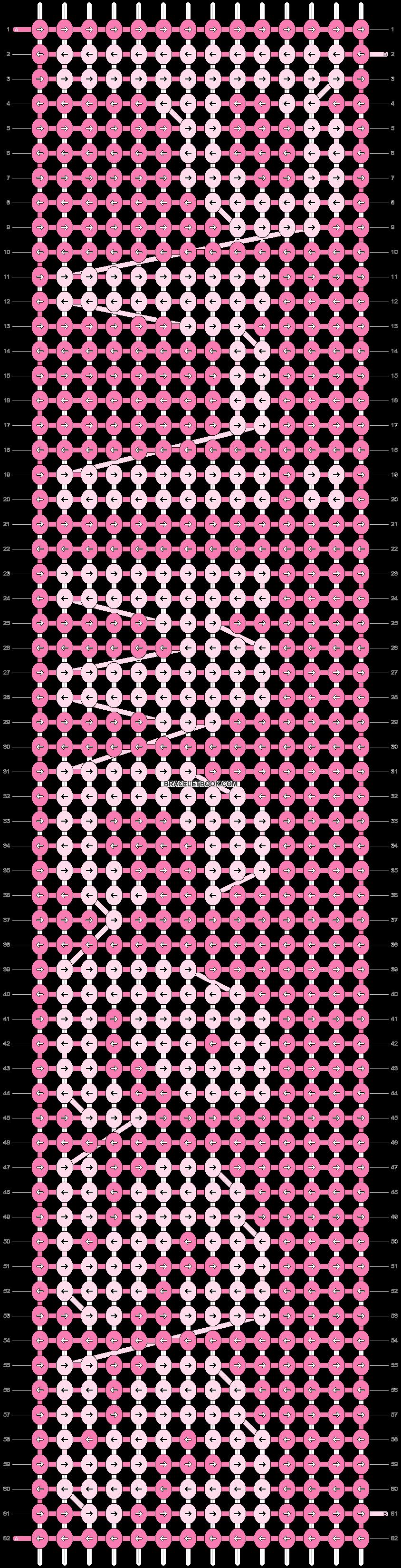 Alpha pattern #1391 pattern