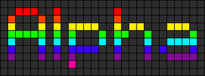 Alpha pattern #1408