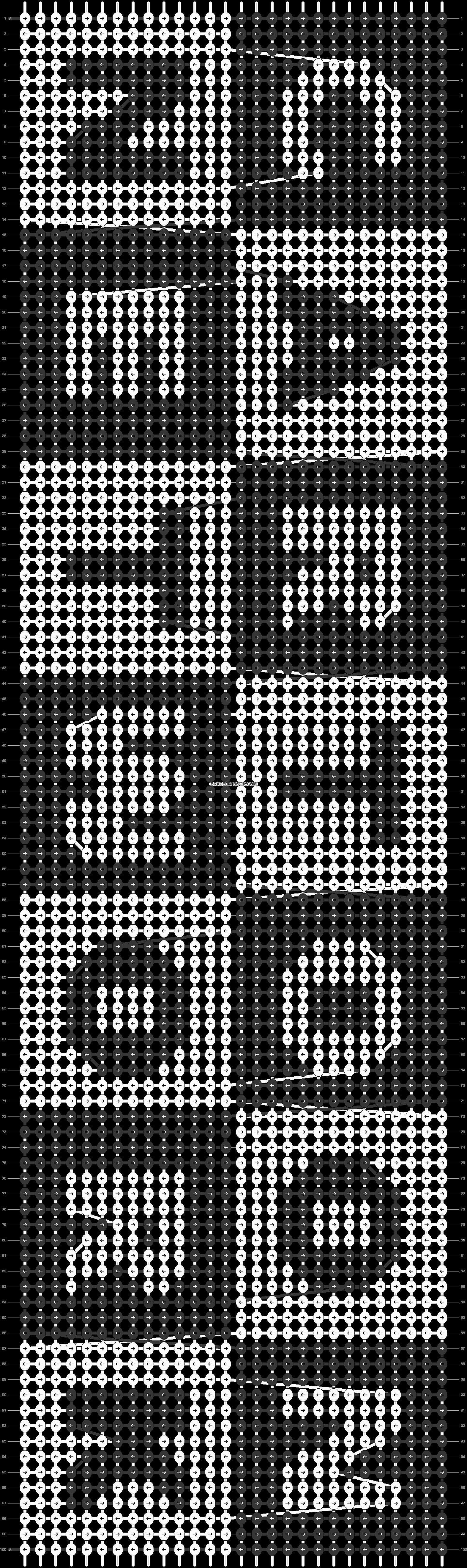 Alpha pattern #1431 pattern