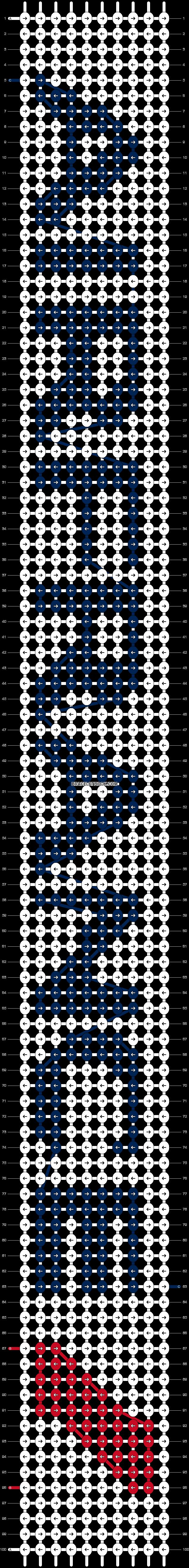 Alpha pattern #1432 pattern