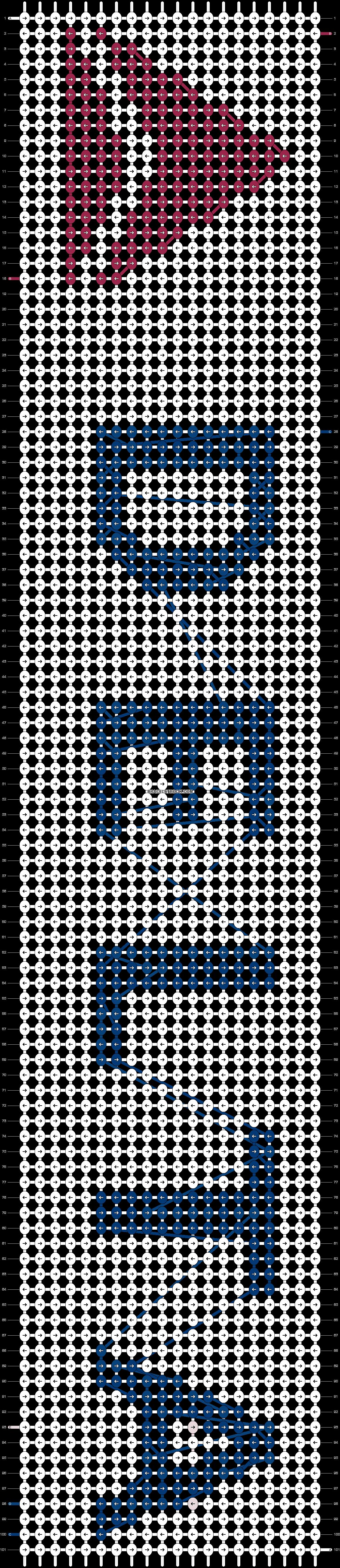 Alpha pattern #1433 pattern