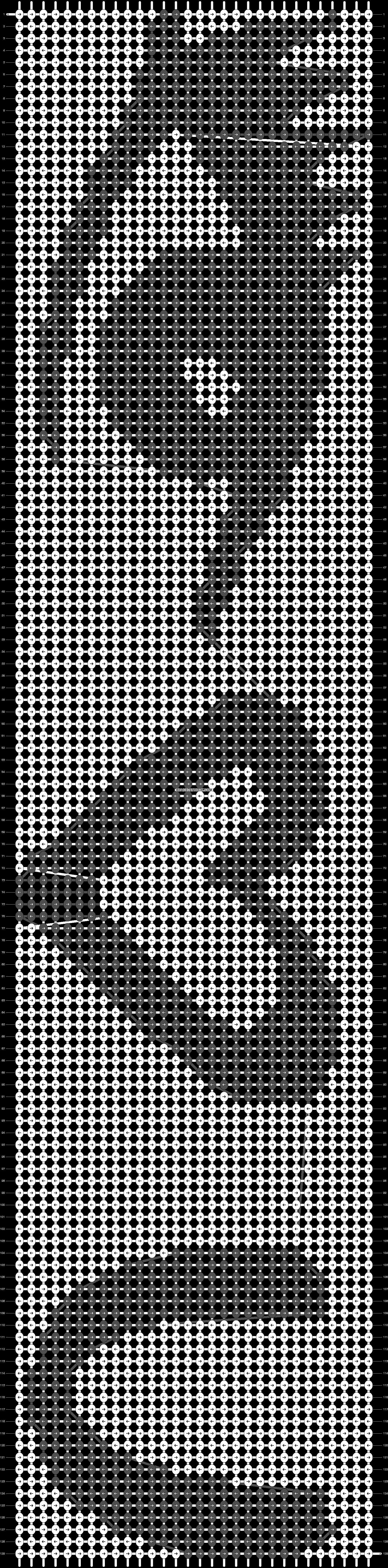 Alpha pattern #1438 pattern