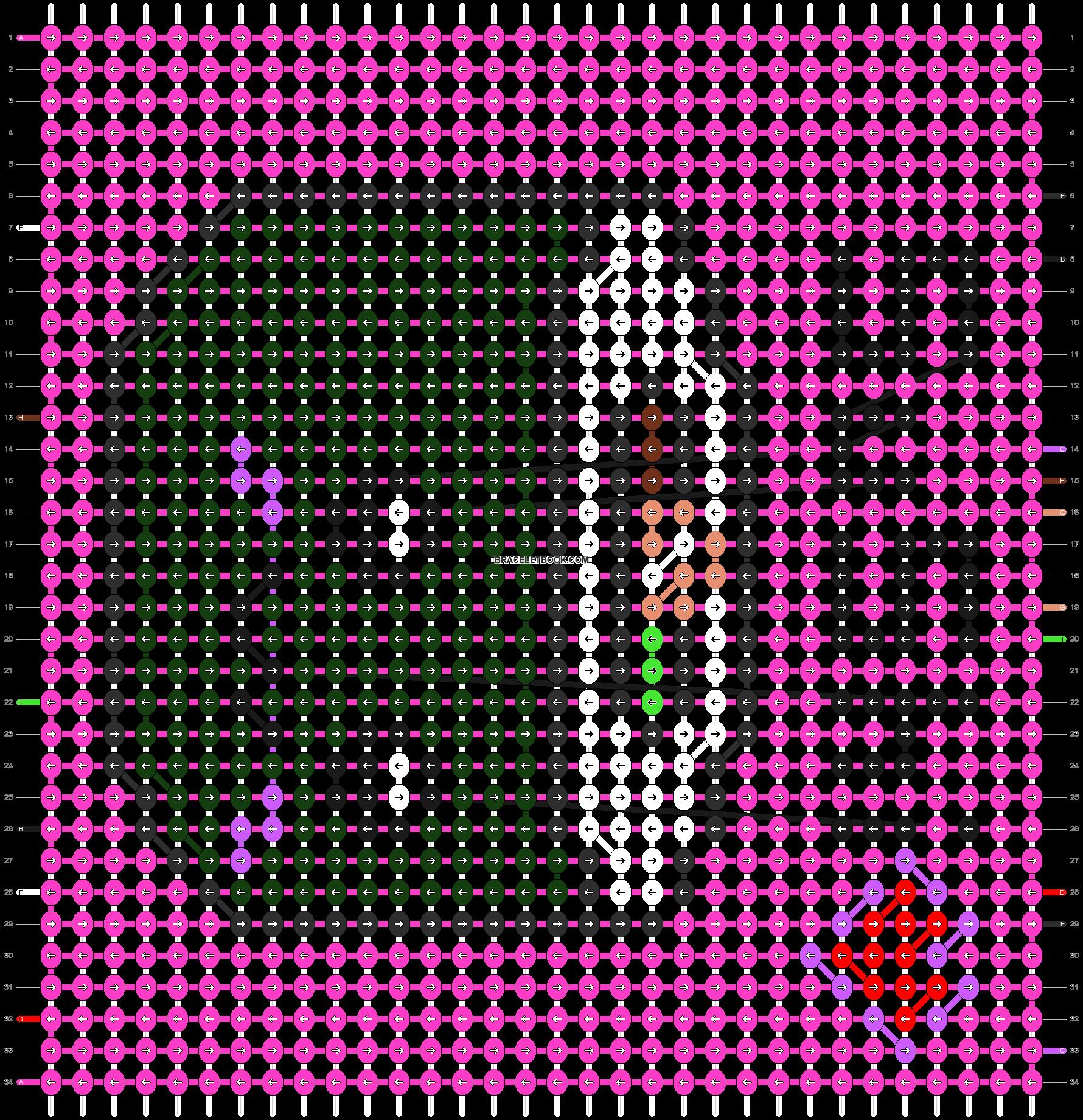 Alpha pattern #1439 pattern