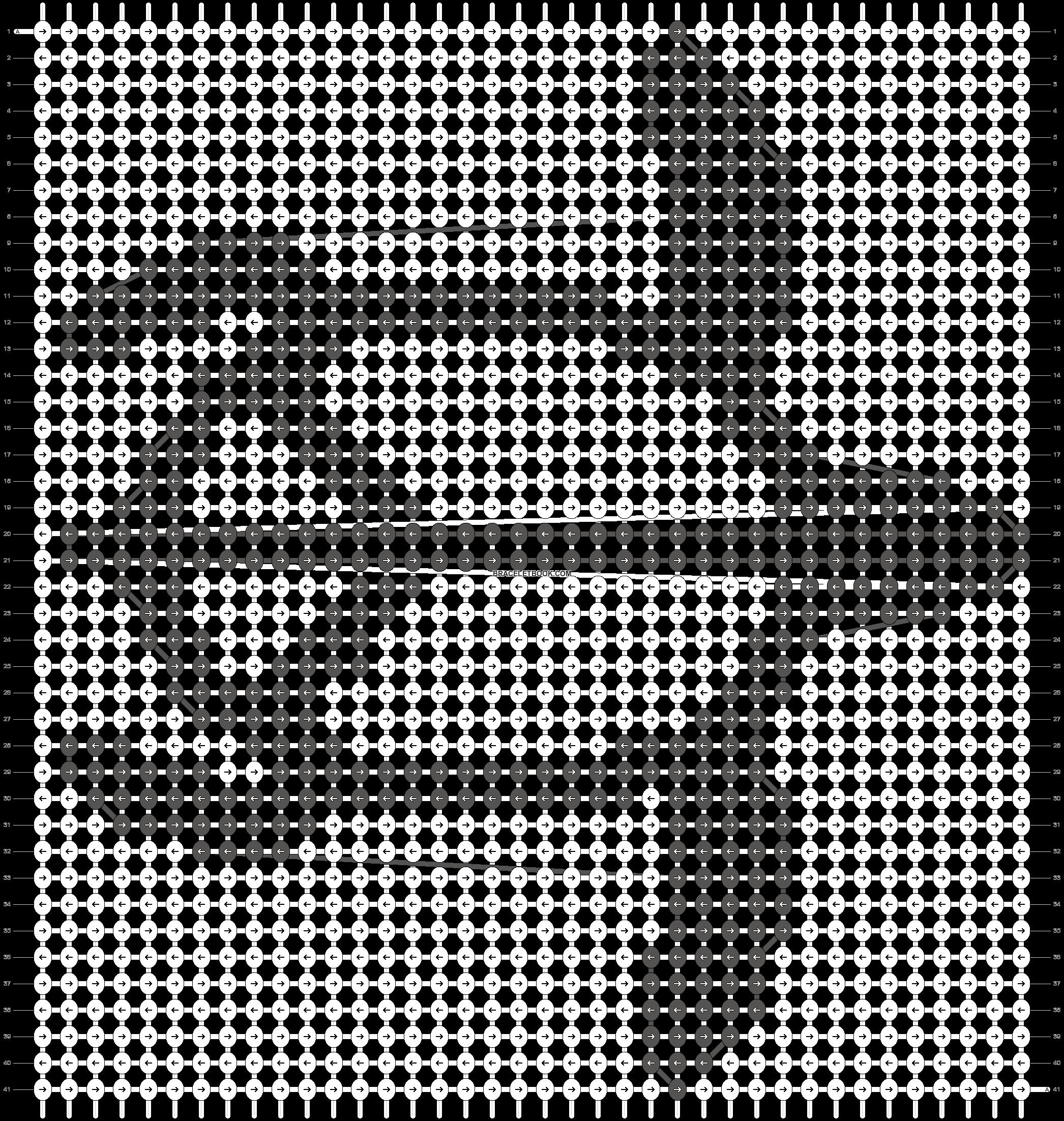 Alpha pattern #1442 pattern