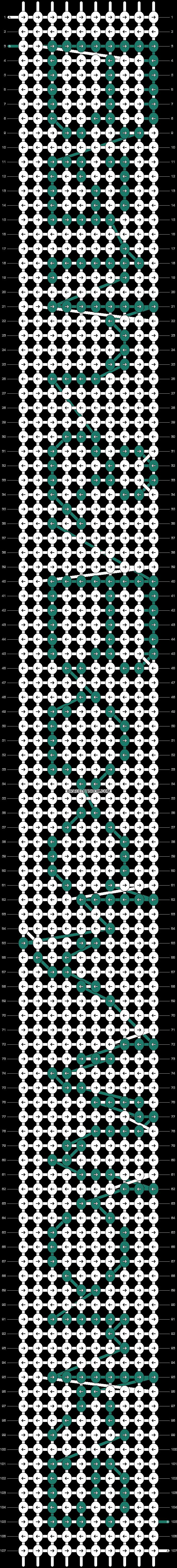 Alpha pattern #1446 pattern