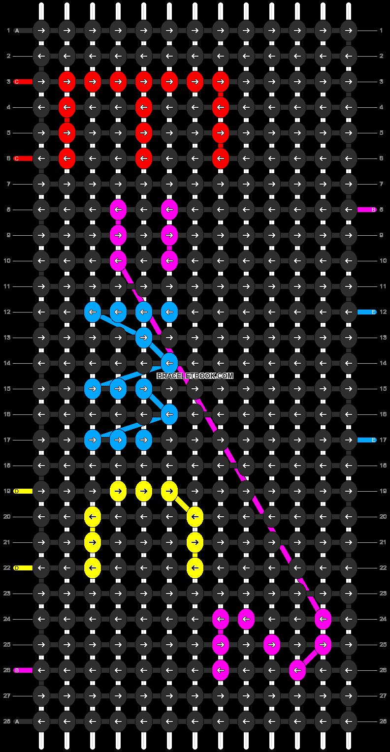 Alpha pattern #1455 pattern