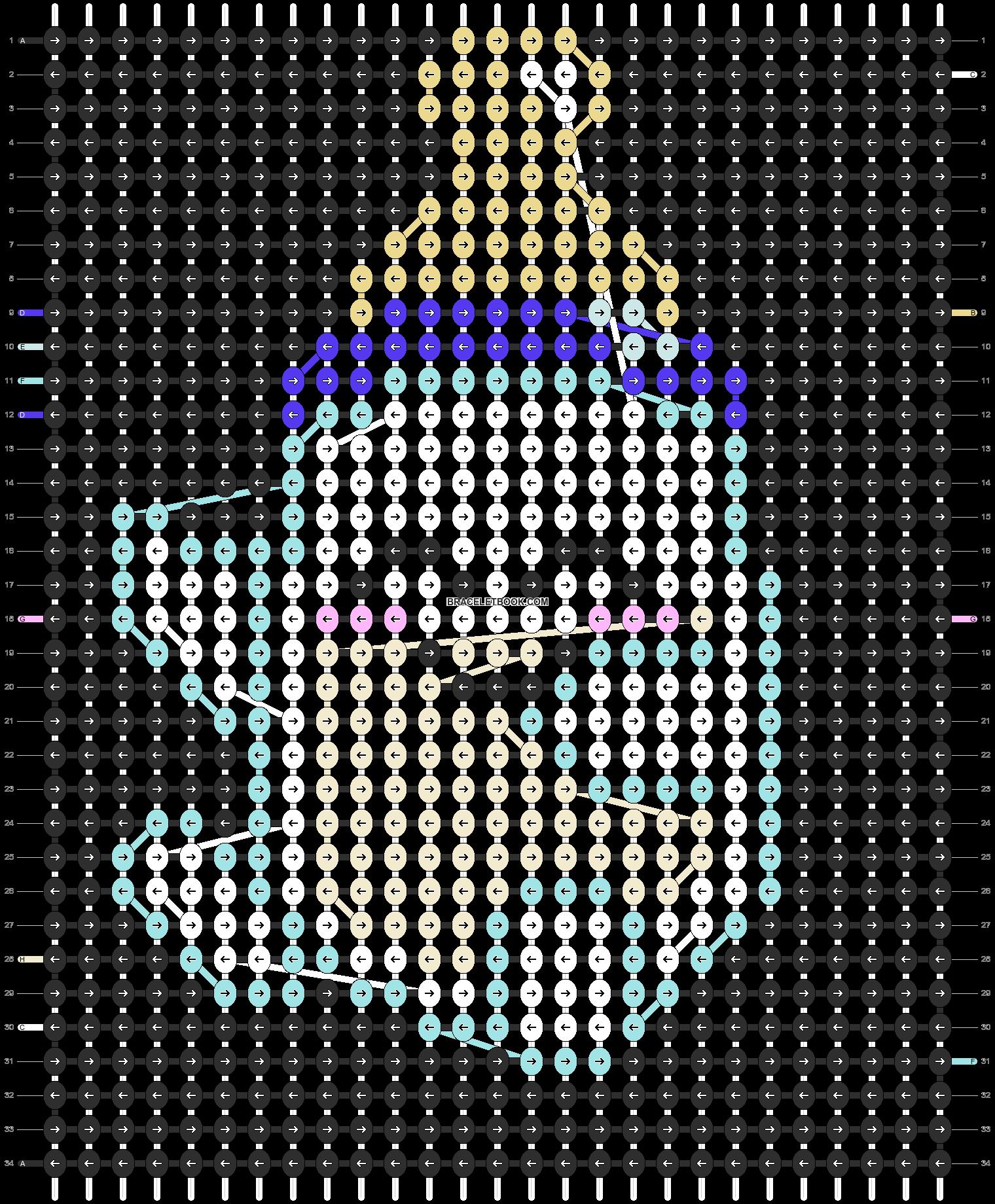 Alpha pattern #1459 pattern
