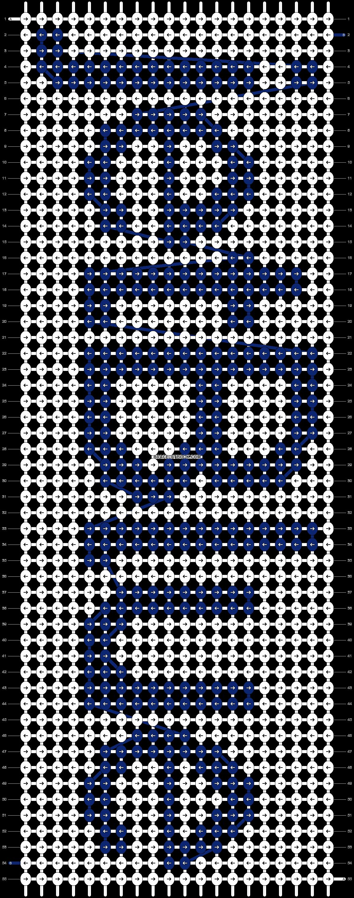 Alpha pattern #1478 pattern