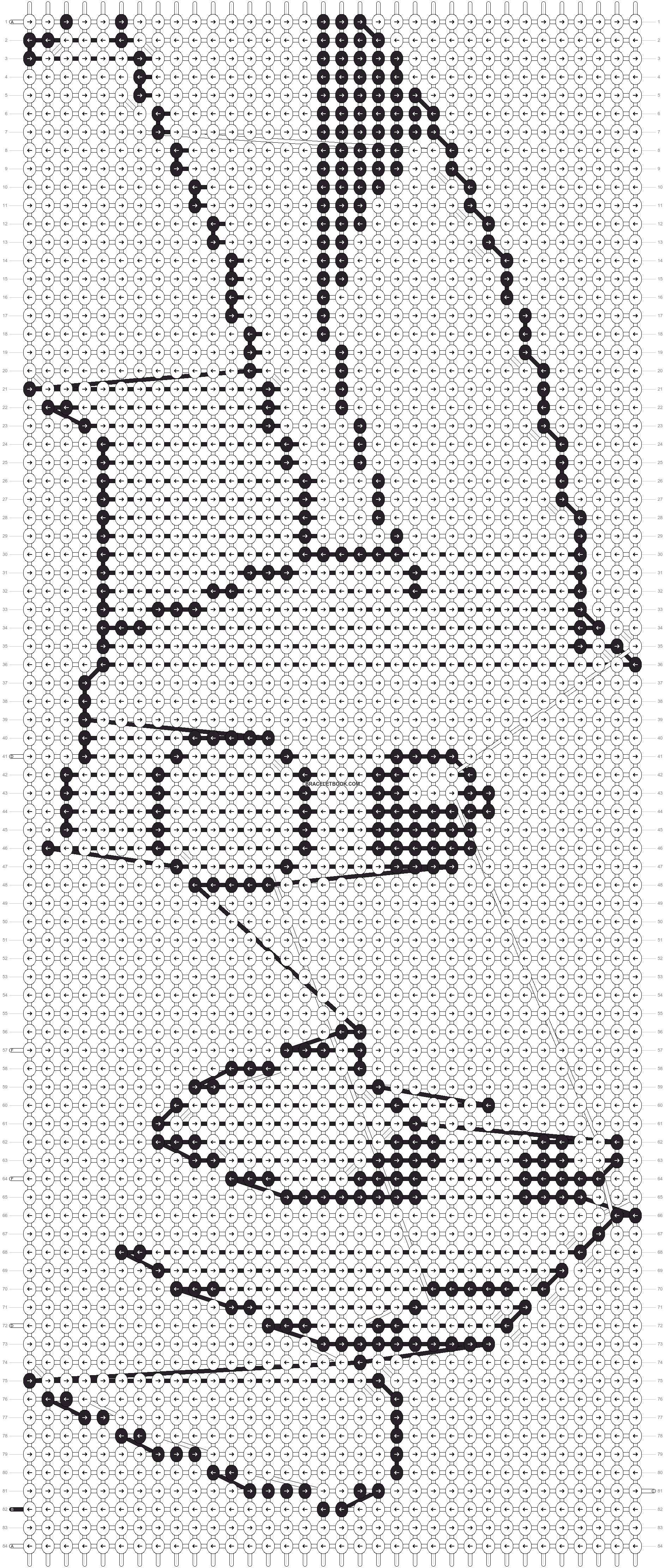 Alpha pattern #1480 pattern