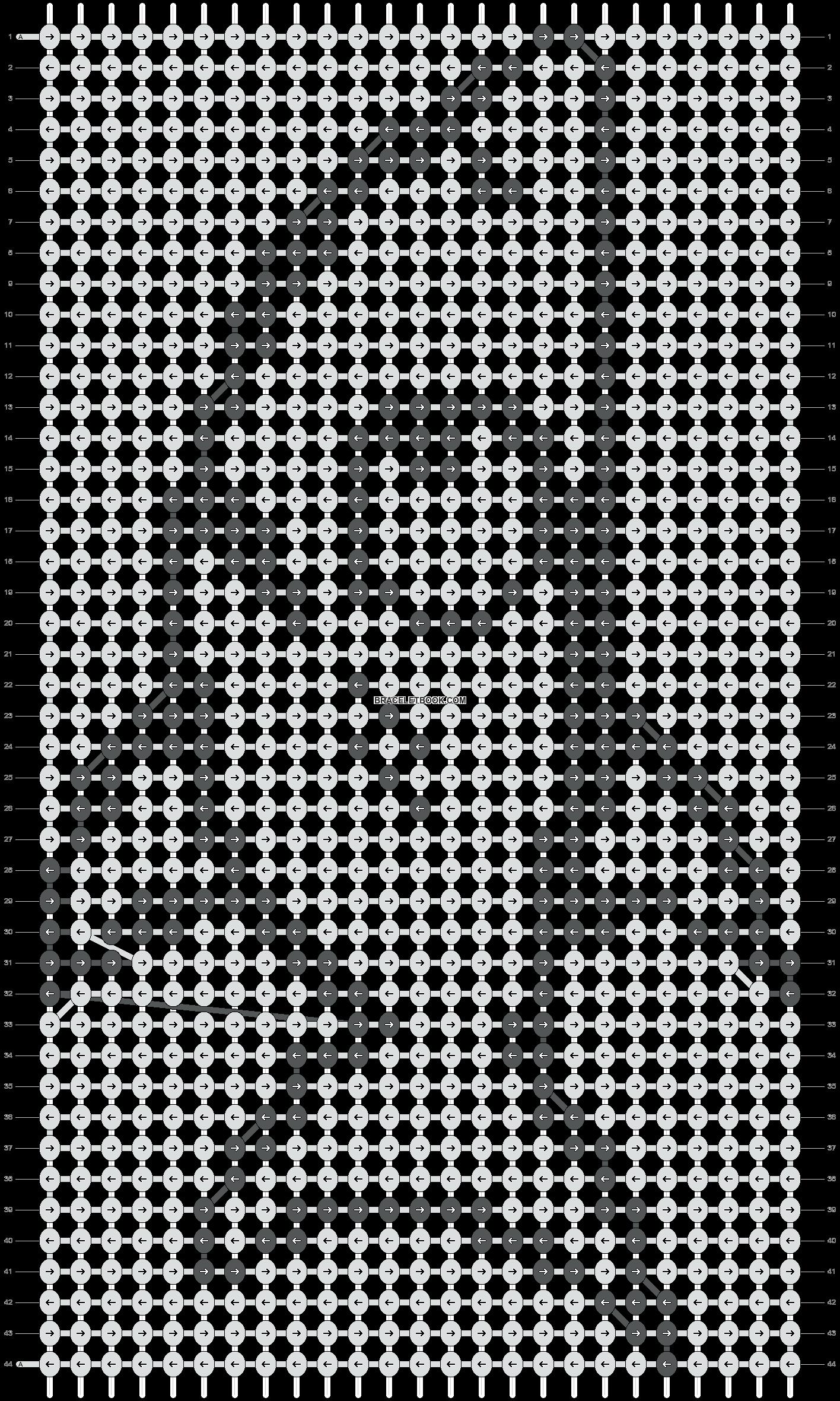 Alpha pattern #1481 pattern