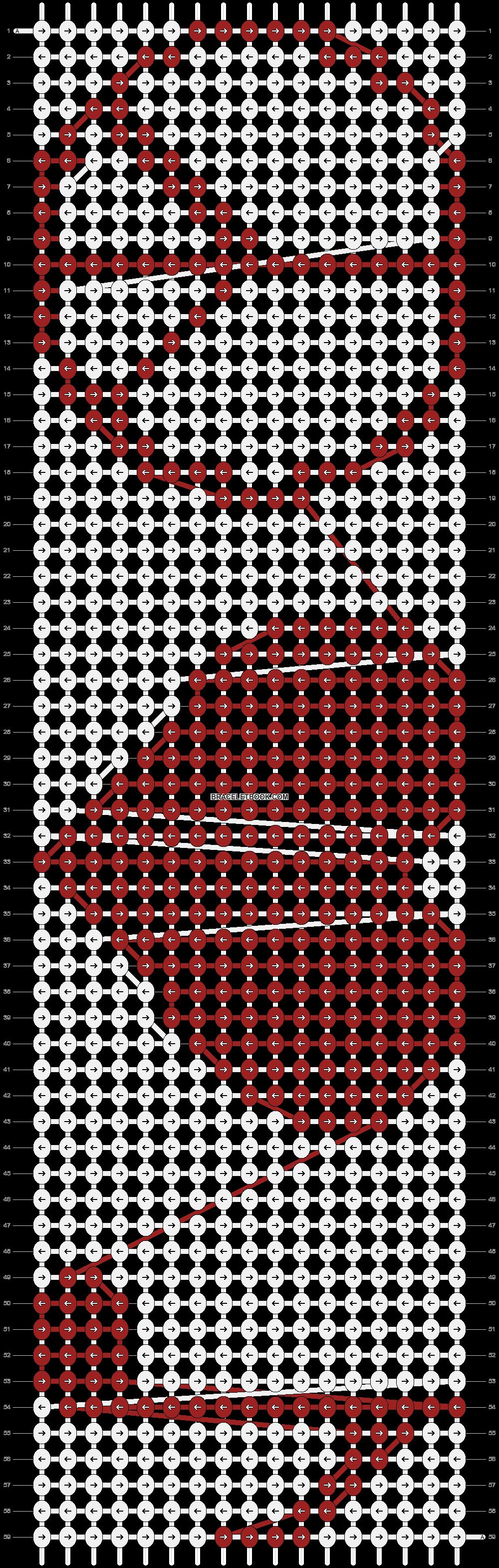 Alpha pattern #1485 pattern