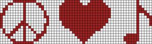 Alpha pattern #1485