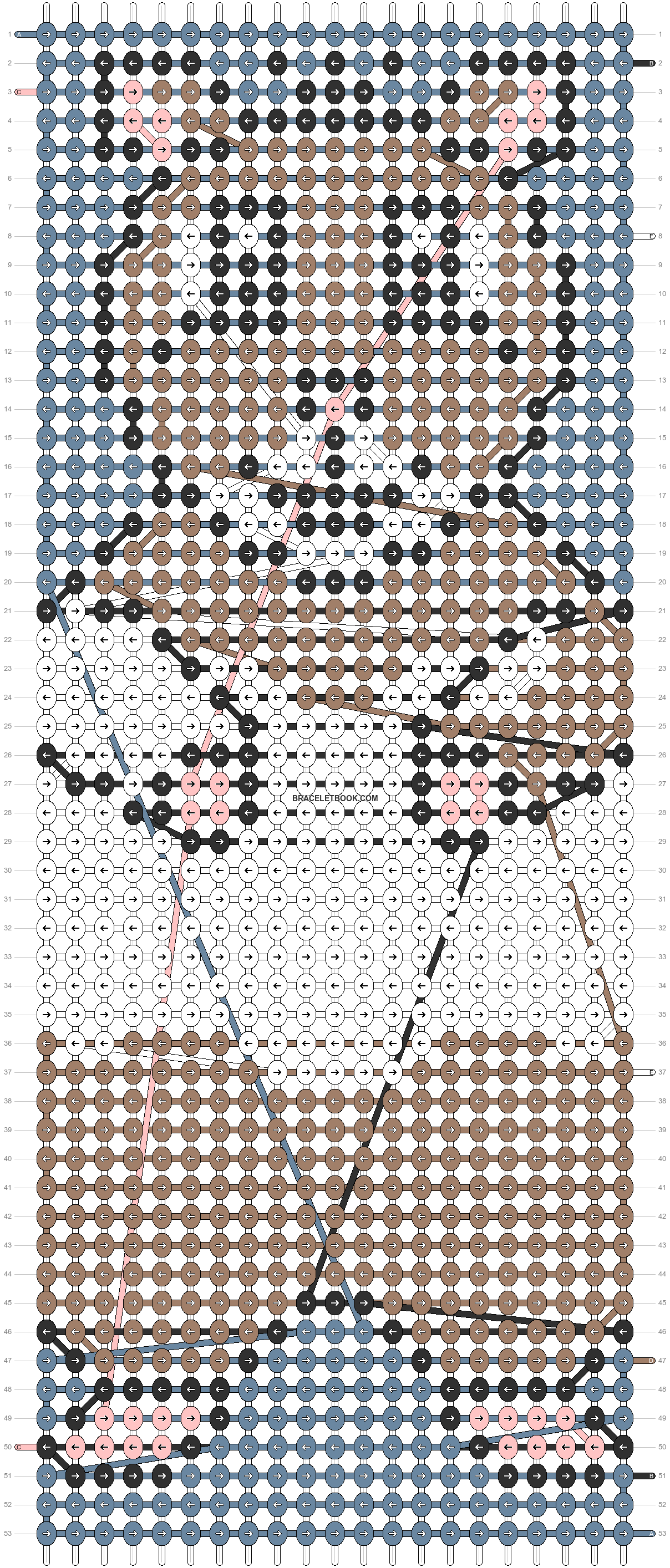 Alpha pattern #1487 pattern