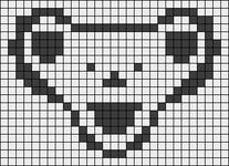 Alpha pattern #1492