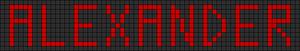 Alpha pattern #1493