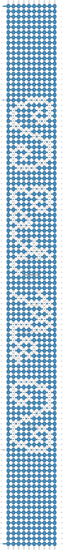 Alpha pattern #1505 pattern
