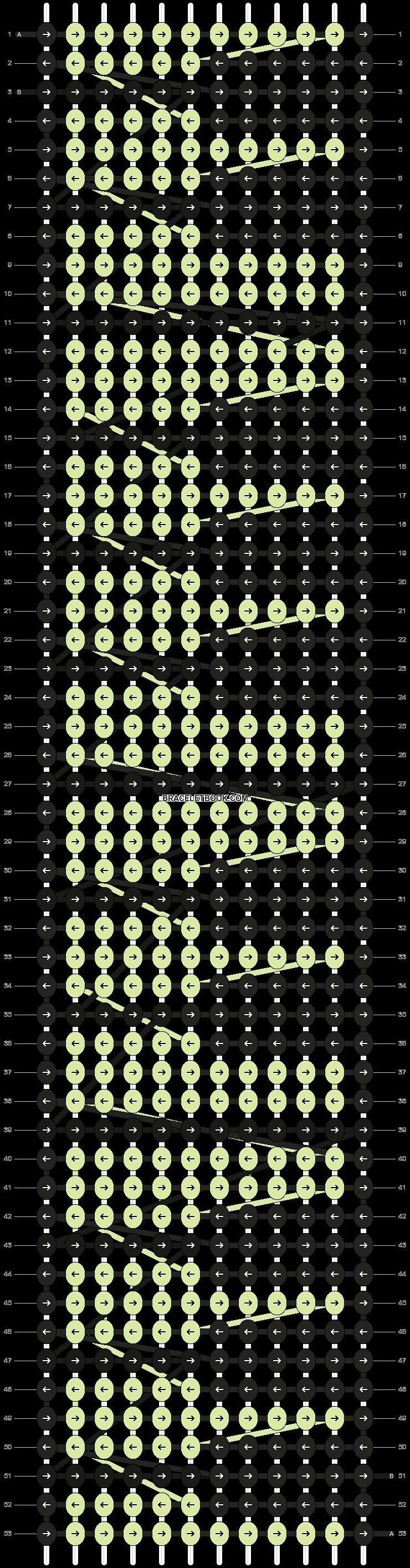 Alpha pattern #1518 pattern