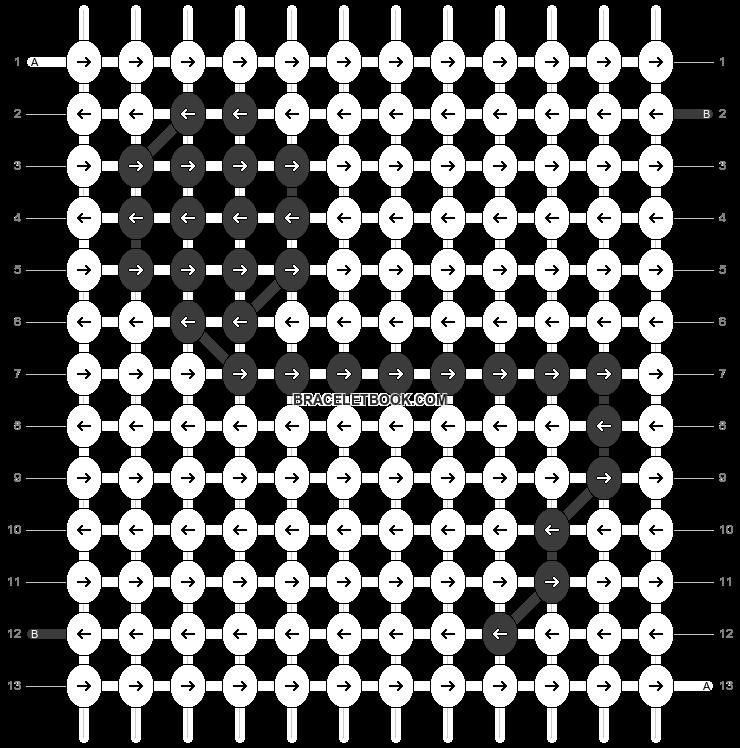 Alpha pattern #1521 pattern