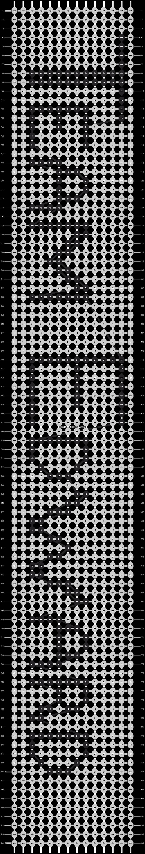 Alpha pattern #1522 pattern