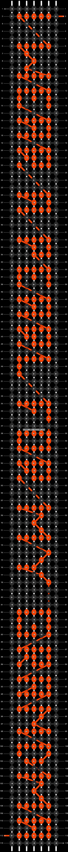 Alpha pattern #1534 pattern