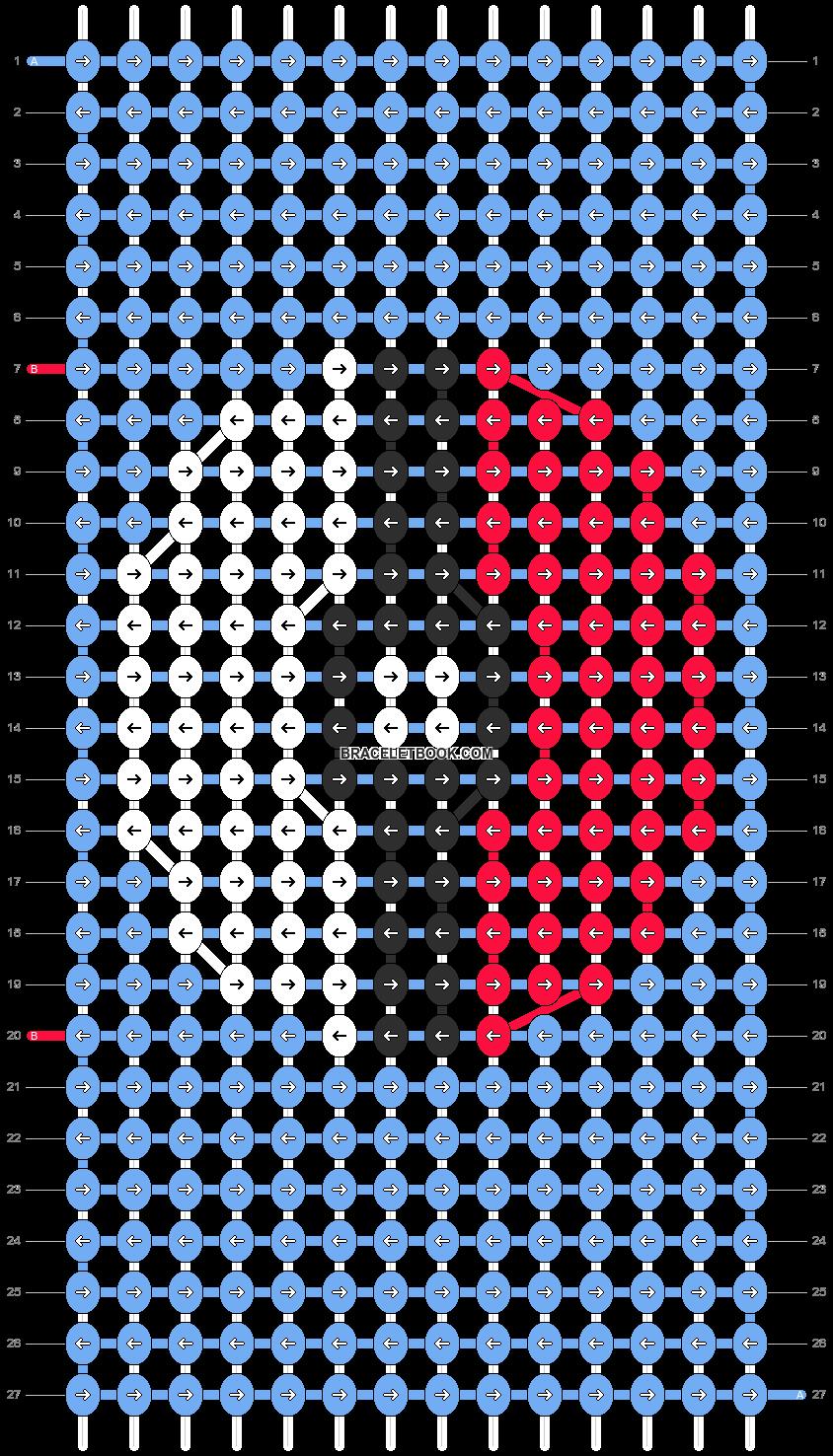 Alpha pattern #1547 pattern
