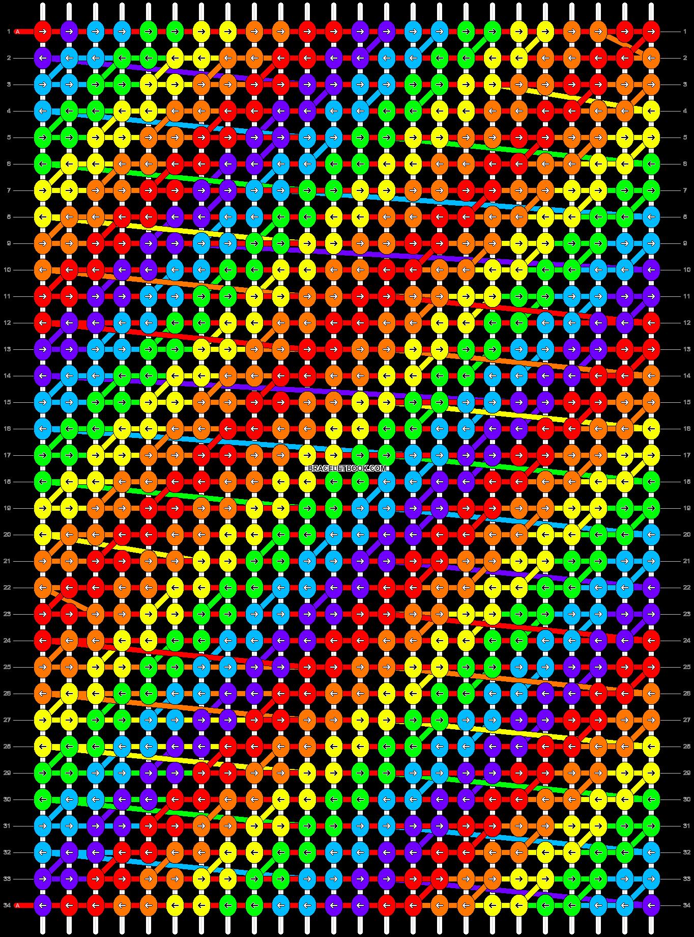 Alpha pattern #1568 pattern
