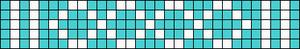 Alpha Friendship Bracelet Pattern #1573