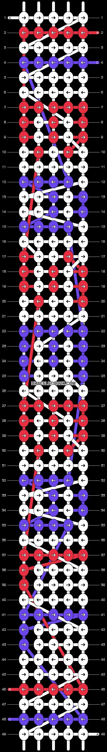 Alpha pattern #1599 pattern
