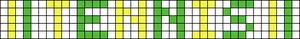 Alpha pattern #1600
