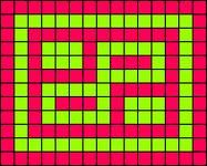 Alpha pattern #1608