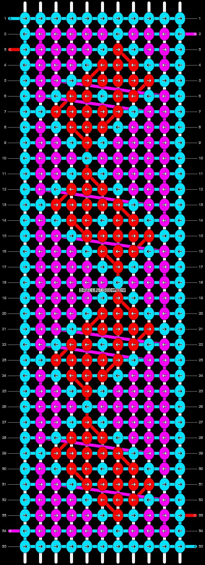 Alpha pattern #1621 pattern