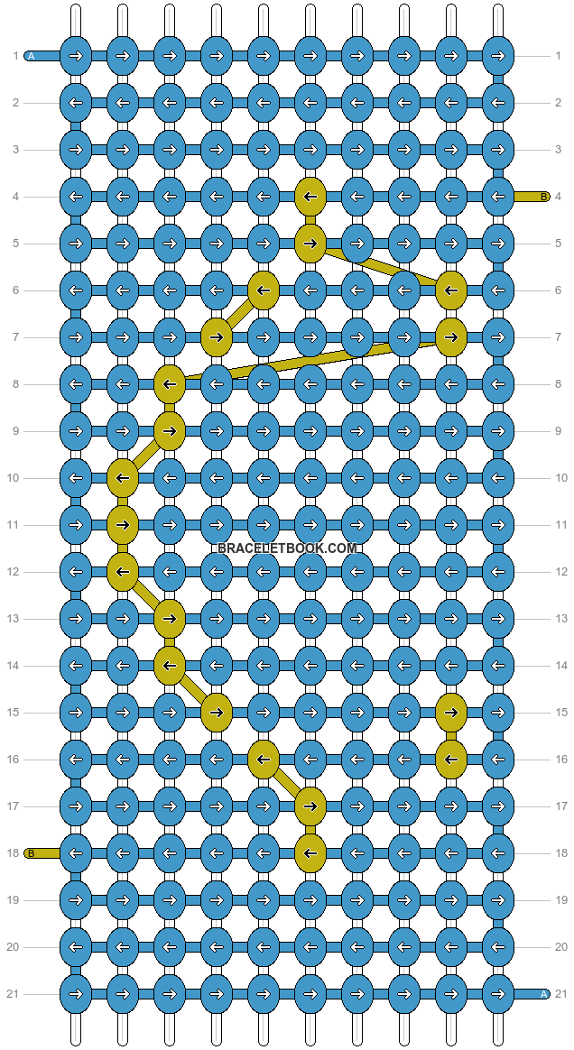 Alpha pattern #1622 pattern