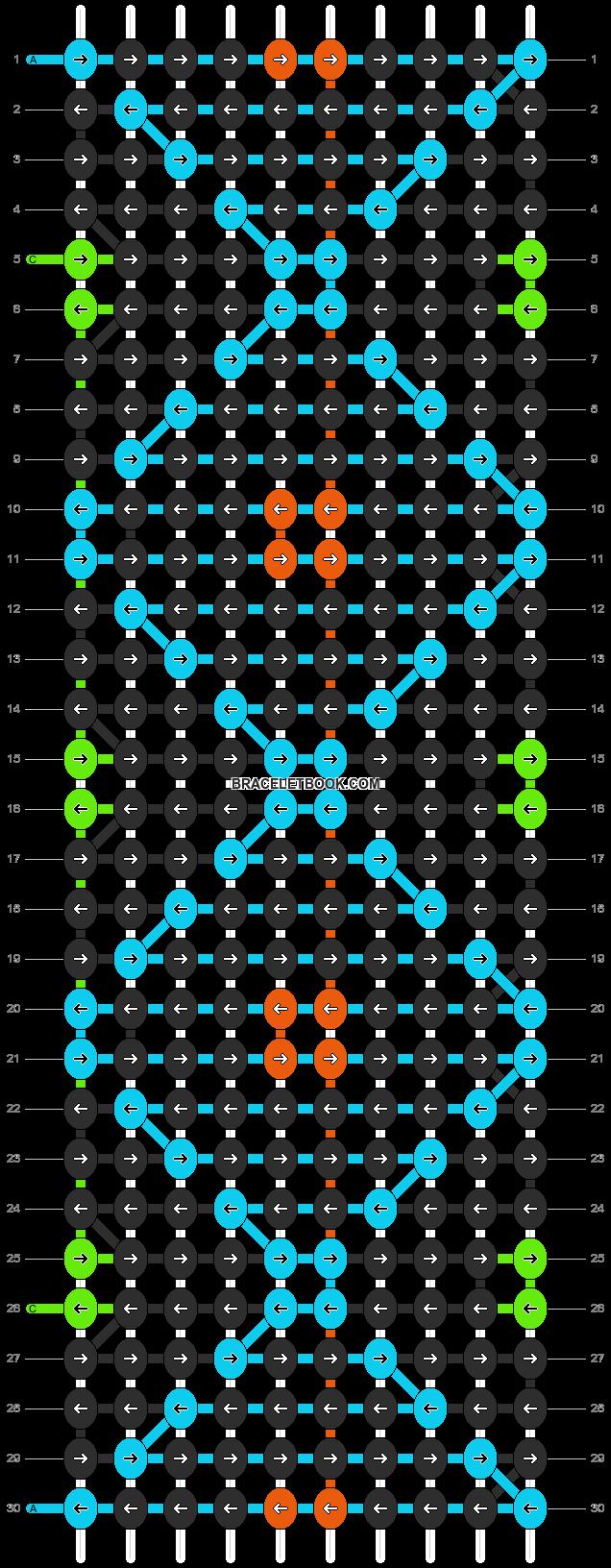 Alpha pattern #1626 pattern
