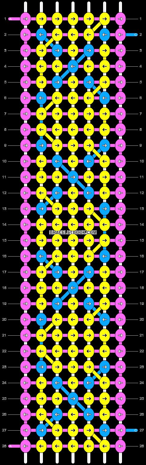 Alpha pattern #1628 pattern