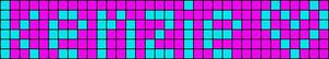 Alpha pattern #1645