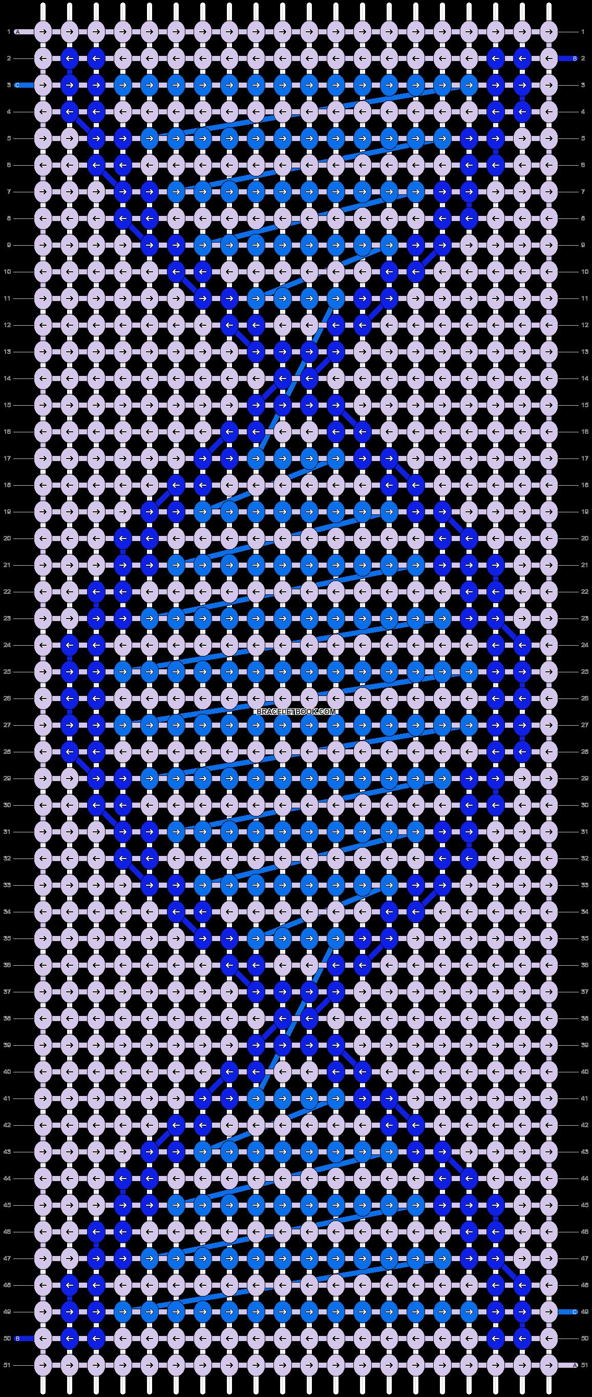Alpha pattern #1647 pattern
