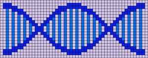 Alpha Friendship Bracelet Pattern #1647