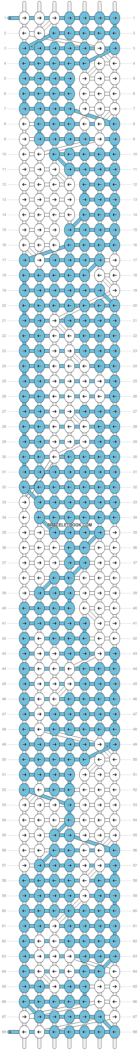 Alpha pattern #1654 pattern