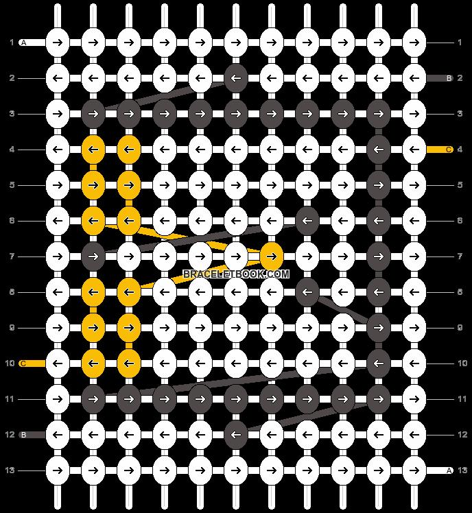 Alpha pattern #1658 pattern