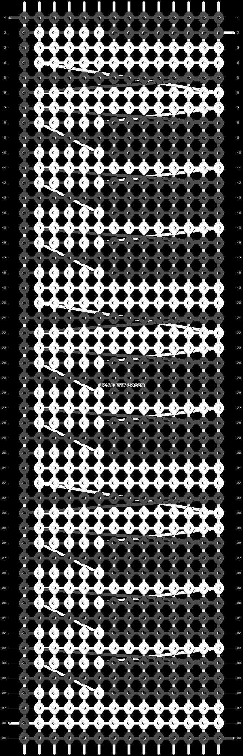 Alpha pattern #1659 pattern