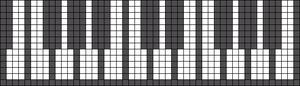 Alpha Friendship Bracelet Pattern #1659