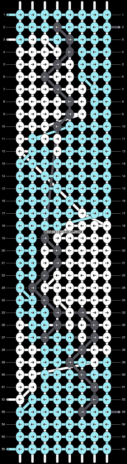 Alpha pattern #1663 pattern