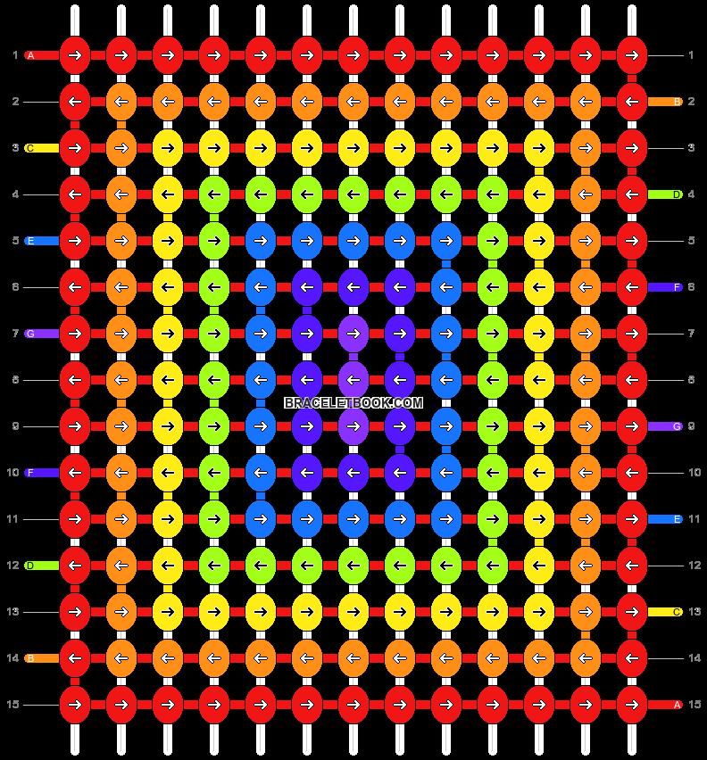 Alpha pattern #1668 pattern