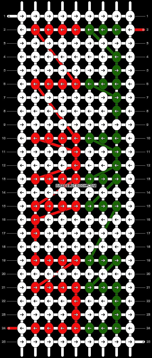 Alpha pattern #1669 pattern