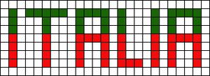 Alpha pattern #1669