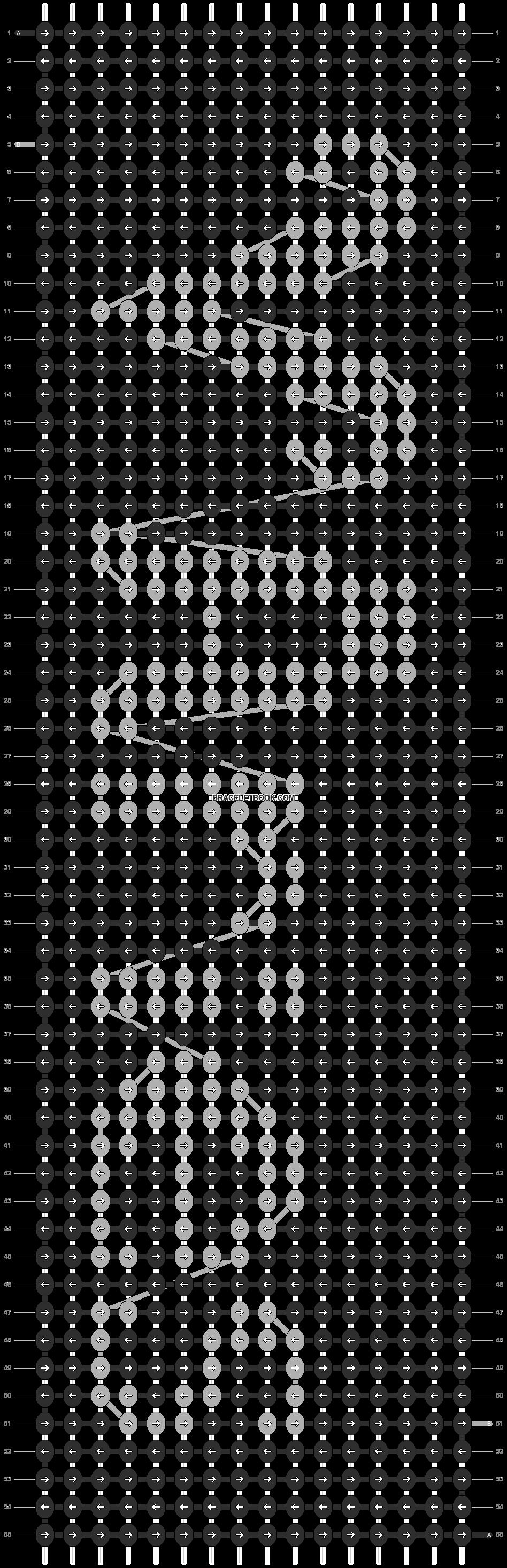 Alpha pattern #1677 pattern