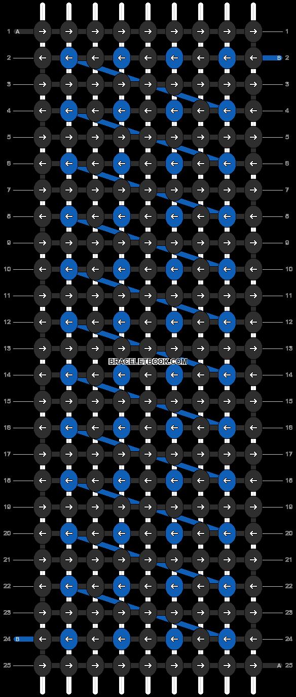 Alpha pattern #1678 pattern